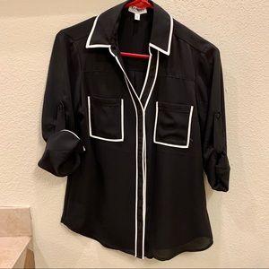 Express Portofino button down dress shirt